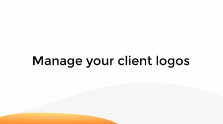 Manage Your Client Logos